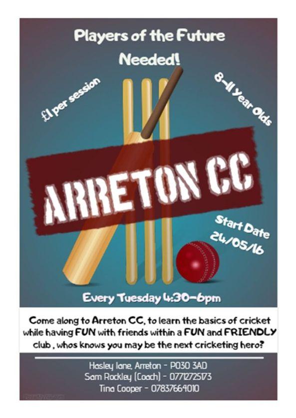 Arreton Cricket