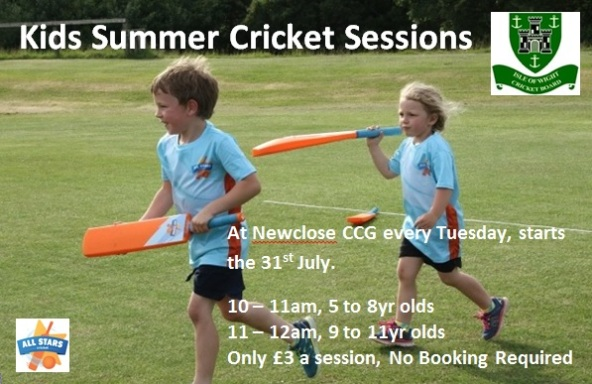 Kids Summer Cricket Sessions