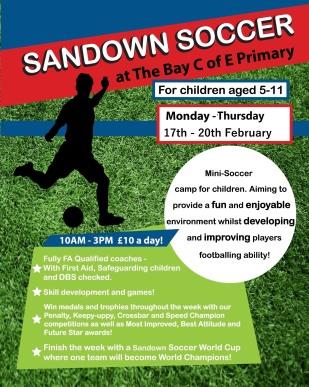 Sandown Soccer Feb 2020 1