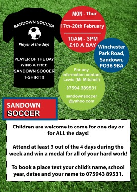 Sandown Soccer Feb 2020 2